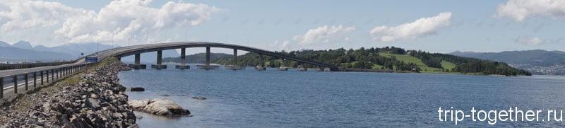 Панорама Атлантической дороги, Норвегия