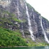 Водопад семи сестер, Герангер фьорд