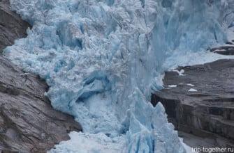 Ледник Йостедалсбреен. Норвегия