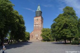 Церковь в Турку. Финляндия