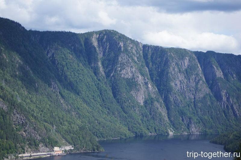Норвежские горы по дороге Осло - Ставангер