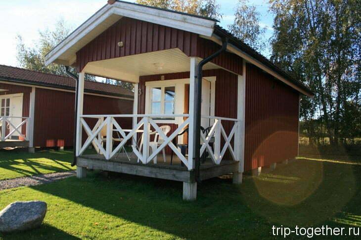 himmelstalund camping cabin не далеко от зоопарка Кольморден
