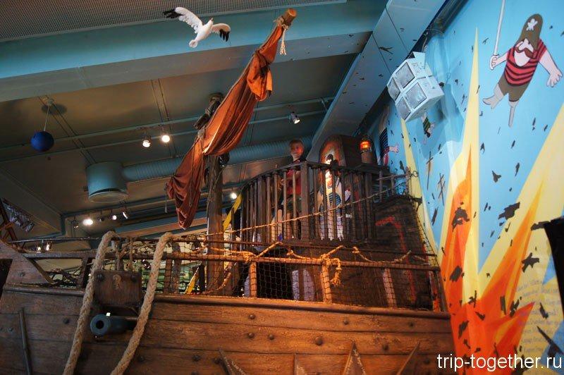 В музее сказок Юнибакен, Стокгольм