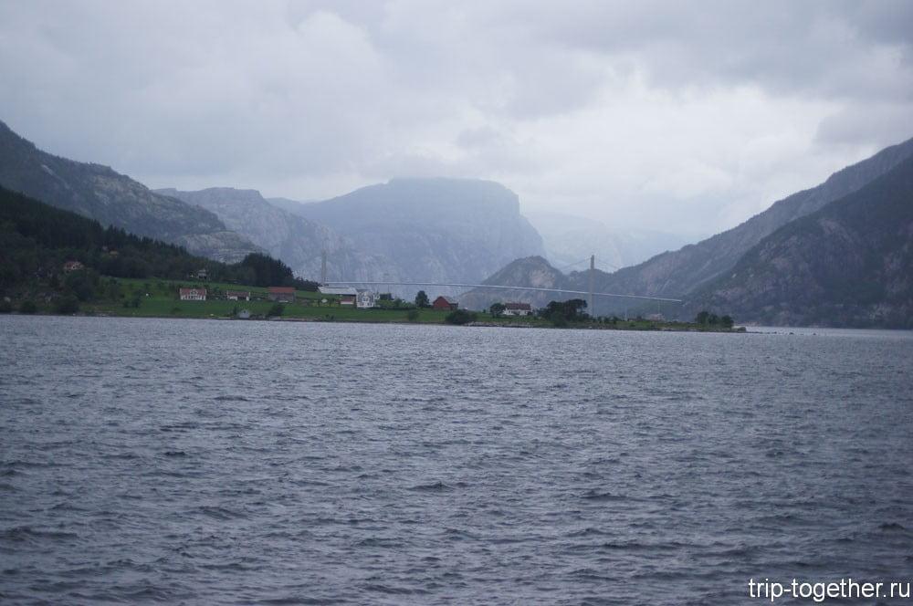 Плохая погода в Норвегии