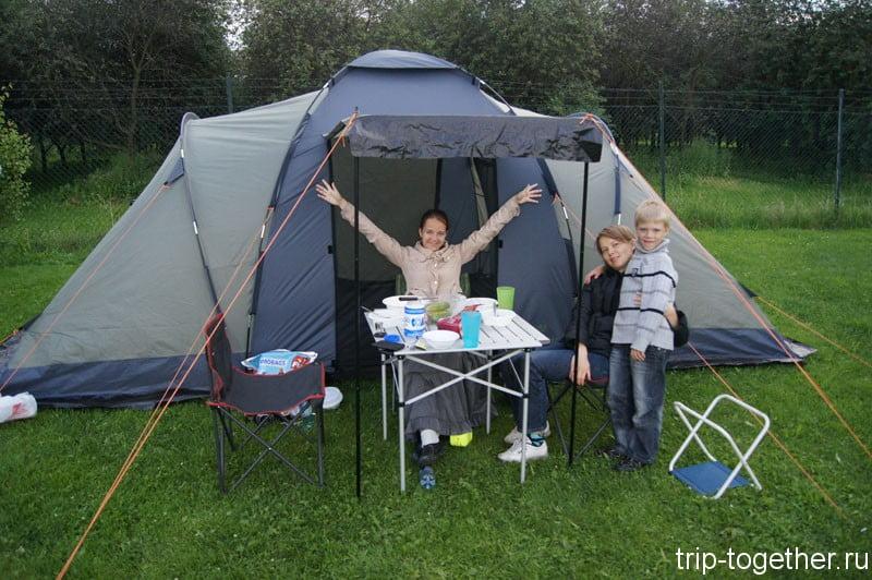Снаряжение для кемпинга - палатка nordway