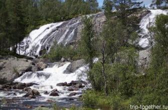 Водопад в Норвегии