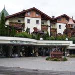 Отель у дороги в Австрии