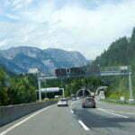 Австрийское скоростное шоссе через Альпы