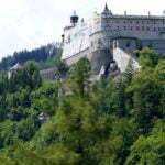 Пейзажи Австрии вдоль дороги
