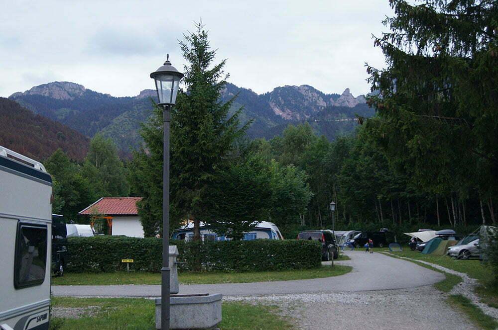 Территория Bannwaldsee camping