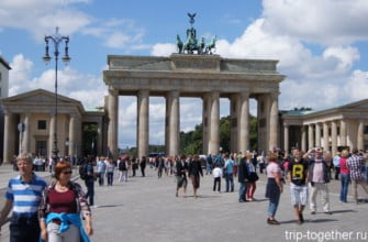 Бранденбургские ворота. Берлин