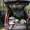 Багажник, путешественника по кемпингам