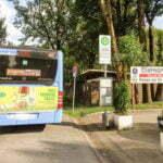 Автобусная остановка рядом с Campingplatz Nord-West