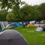 Зона для установки палаток Campingplatz Nord-West