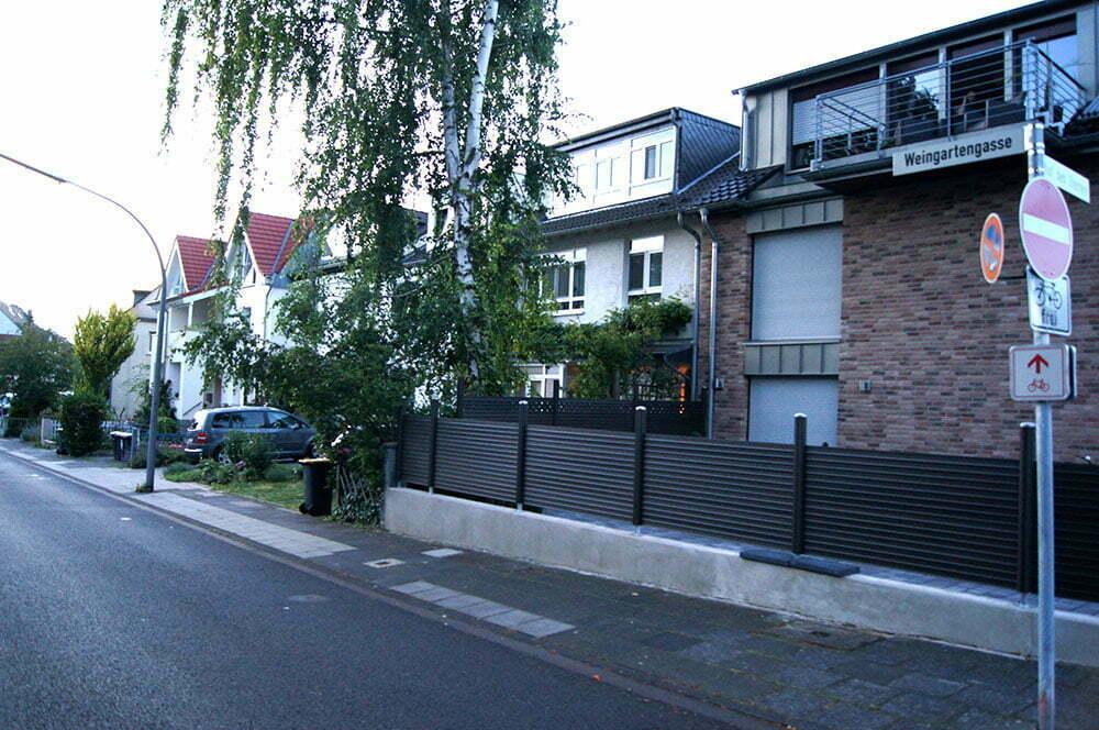 Улица в окресностях кемпинга в Кельне