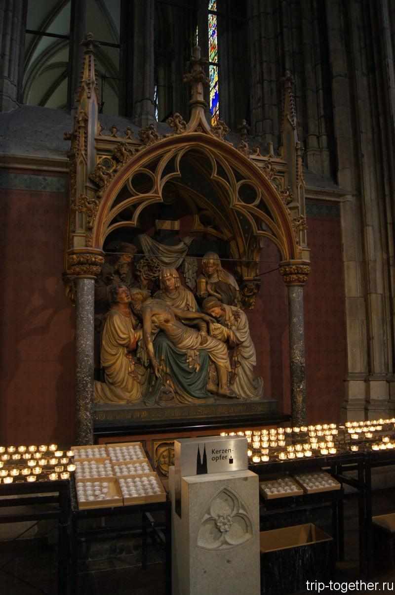 Снятие с креста, Кельнский собор