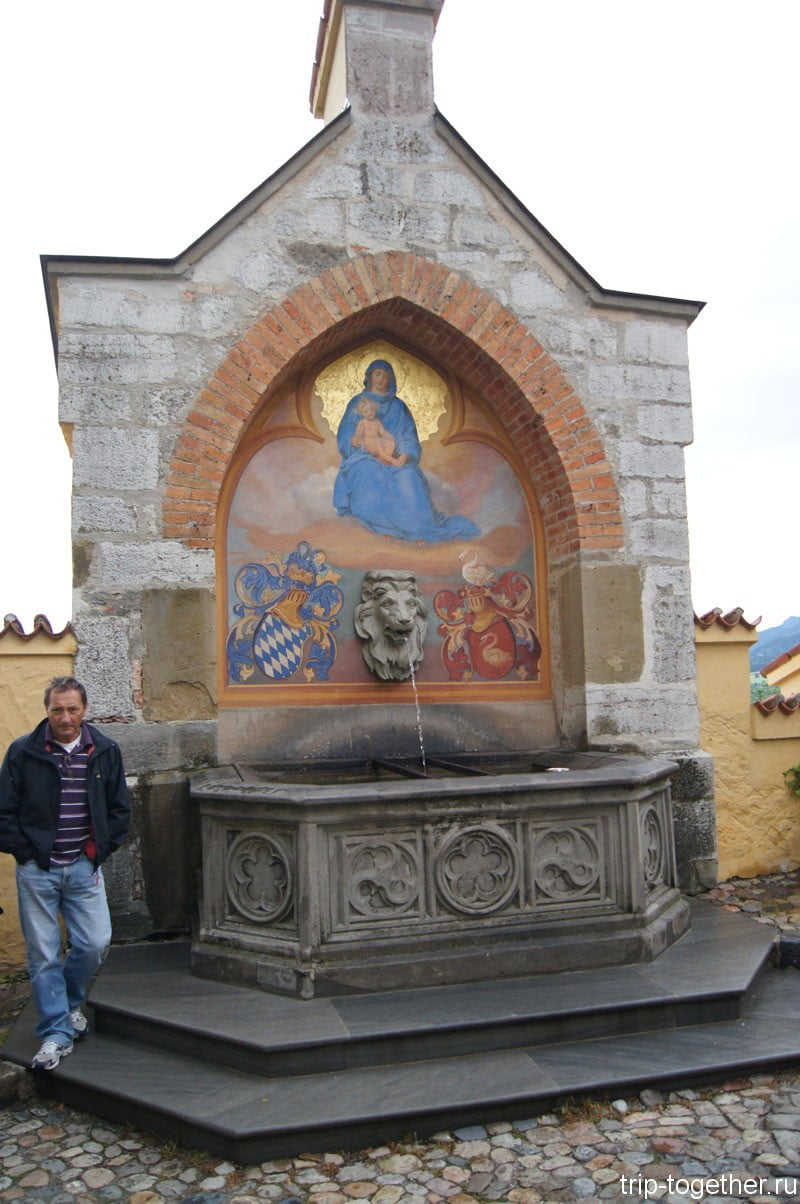 Хоэншвангау - фонтанчик