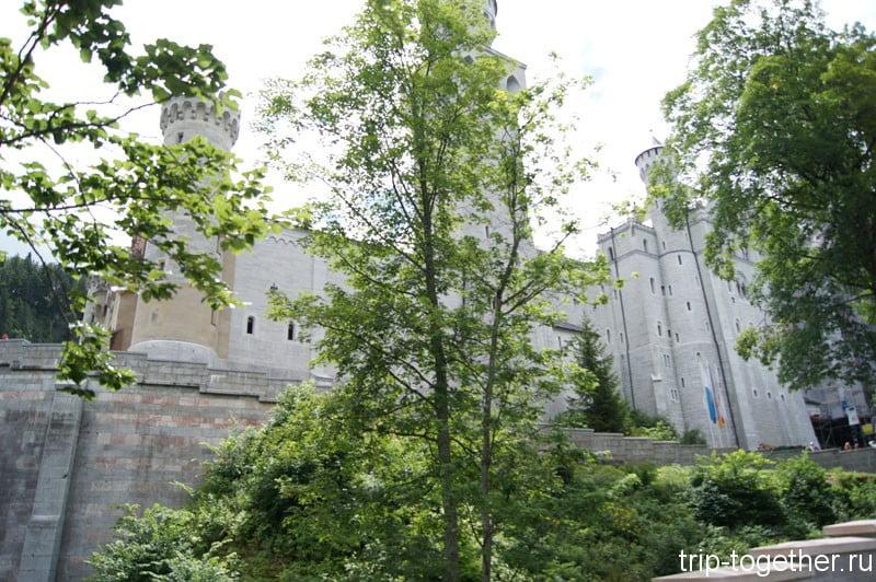 Замок Нойшванштайн