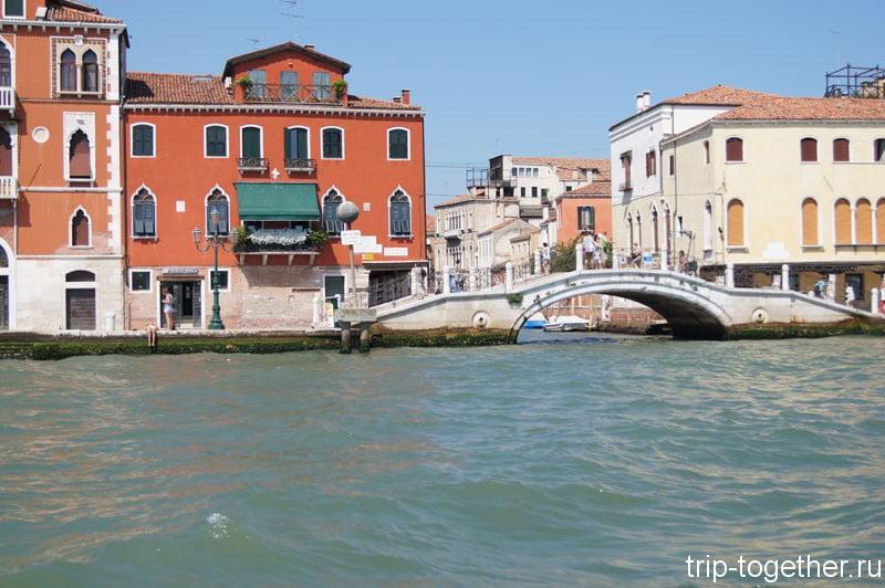 Дома Венеции, снимок с ваппоретто