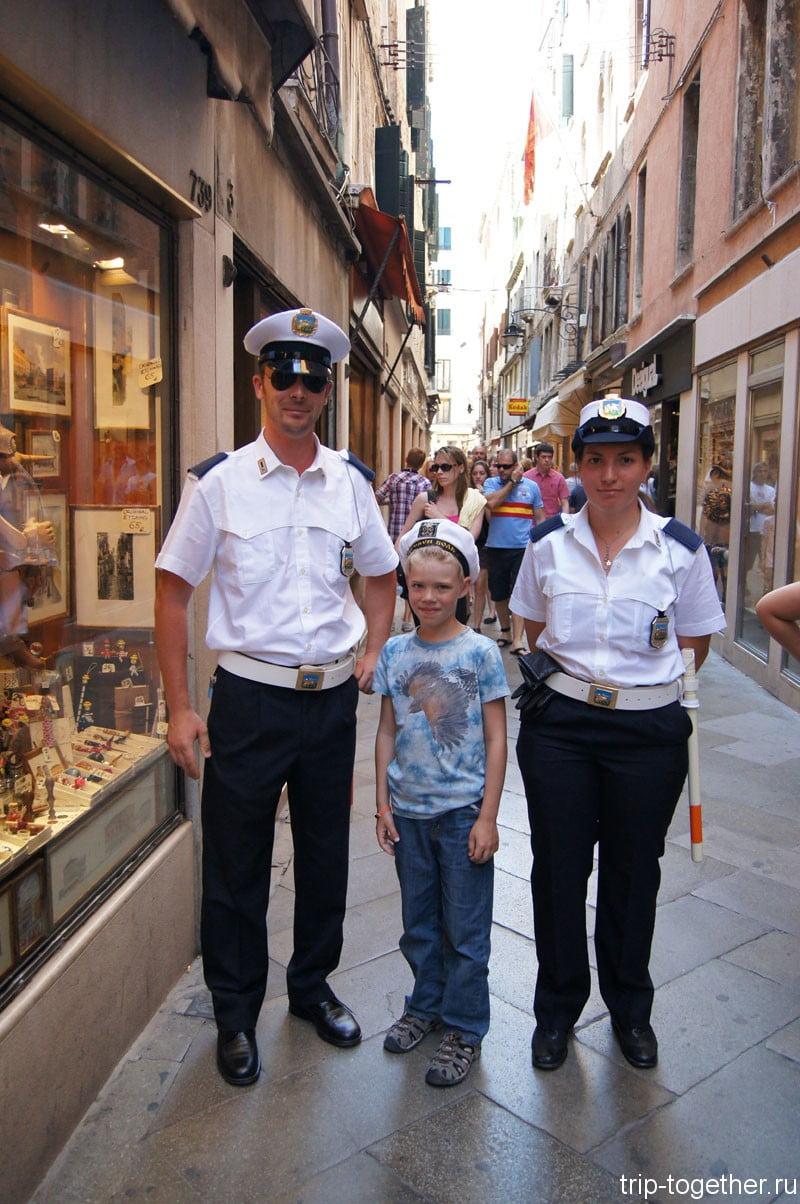 Венецианская полиция