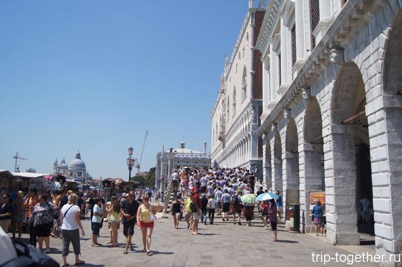 Набережная вблизи площади Сан Марко