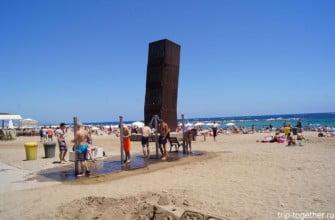 Пляж Барселоннета, Барселона, Испания