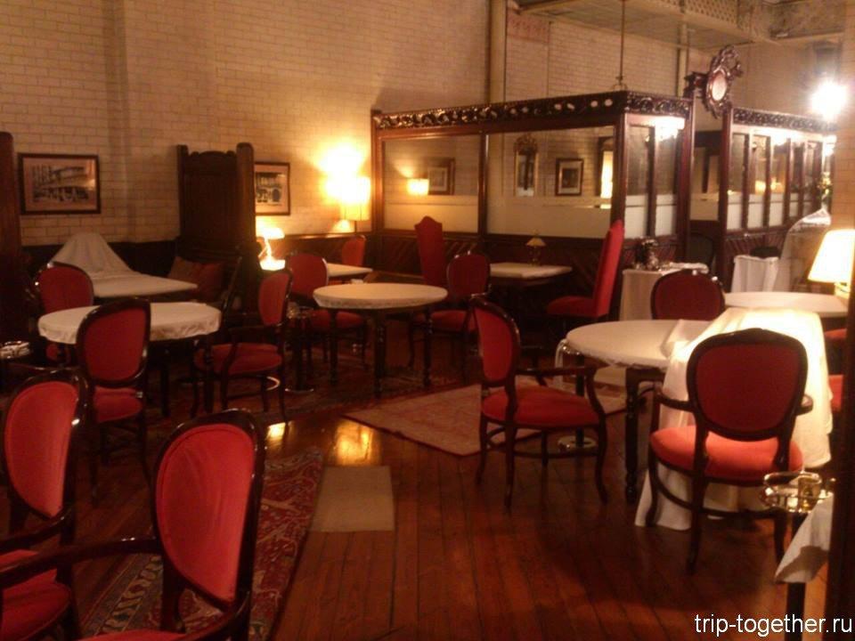 Дом Кальвет - интерьер ресторана