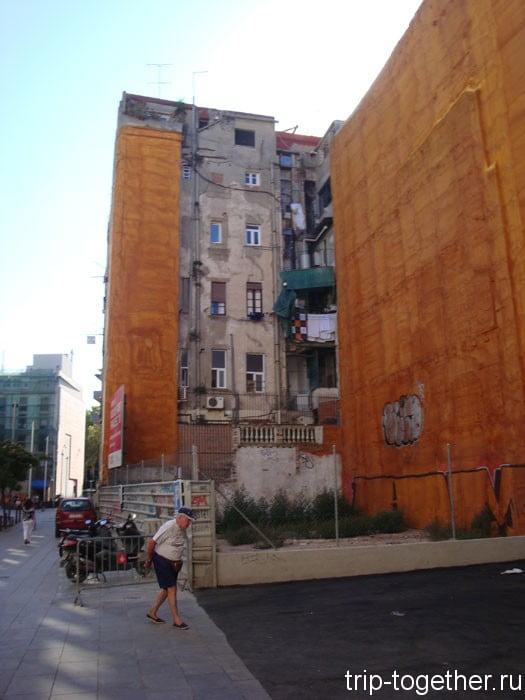 Задние фасады Ла Рамблас, Барселона