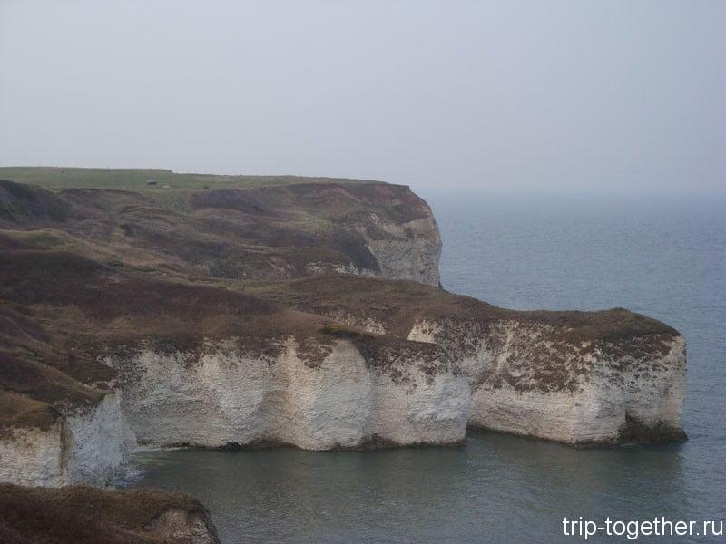 меловые скалы в восточном Йоркшире