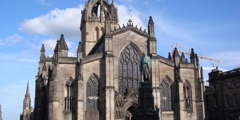 Эдинбург. Шотландия.