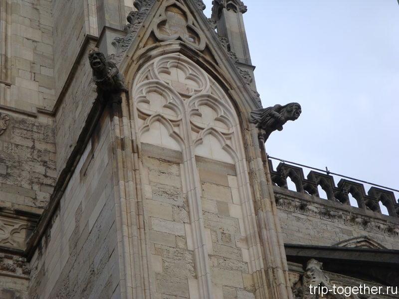 Йоркский собор, фрагмент
