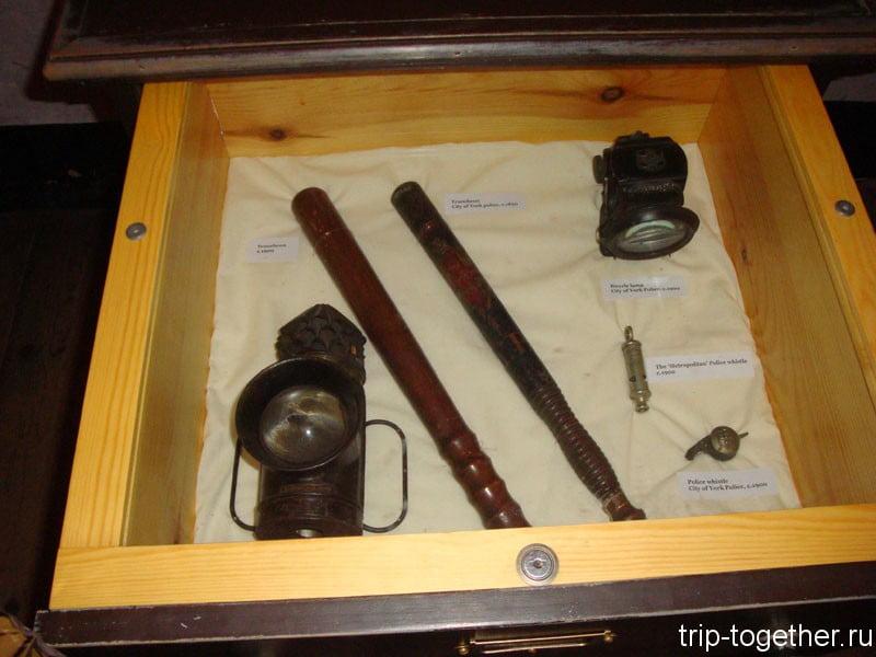 Экспонаты Йоркширского музея