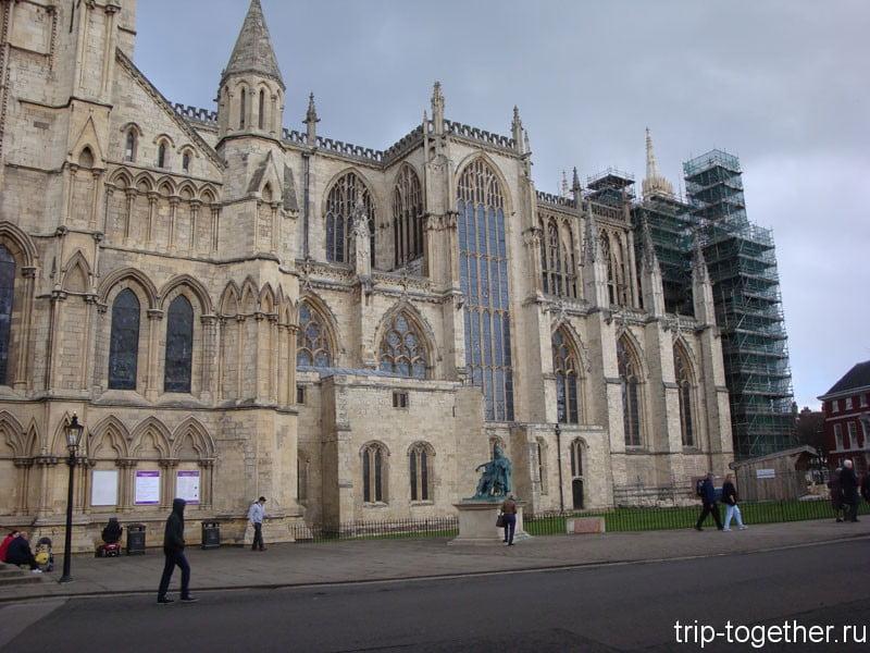Йоркский собор - достопримечательность Йорка