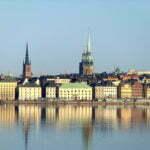 Стокгольм, виды с борта Викинг Лайн