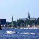 Стокгольм, виды от терминала Викинг Лайн