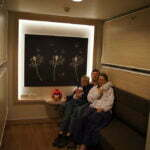 Мы в Inside cabin на пароме Grace
