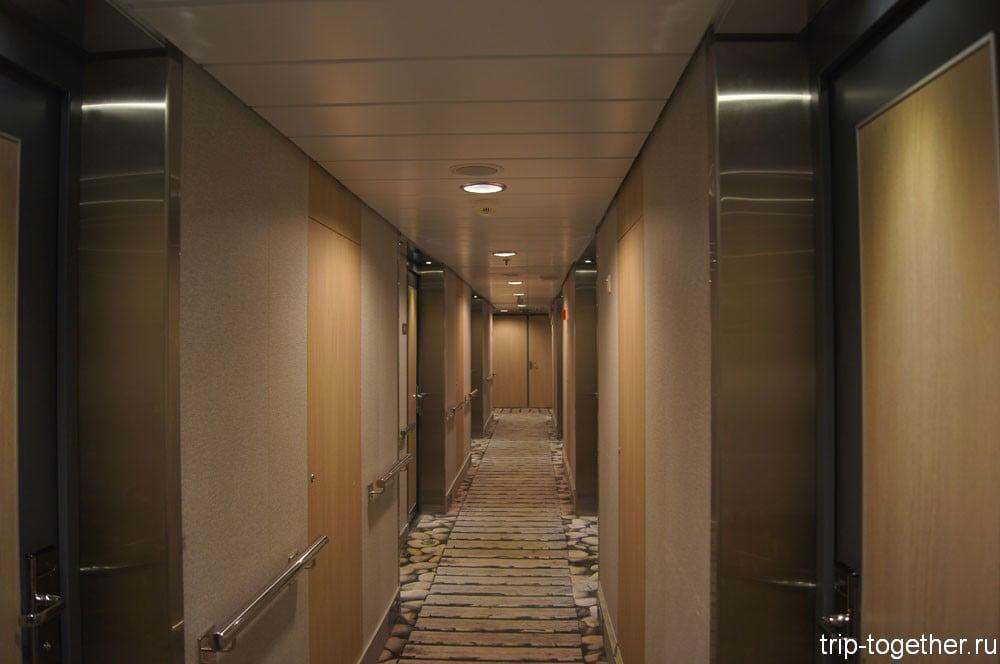 Viking Line, коридоры