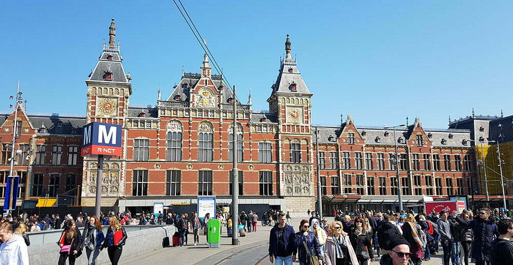 Центральная железнодорожная станция Амстердама