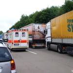 Скорая помощь на дорогах Германии