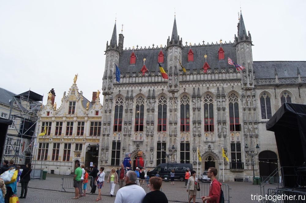 Площадь Бург (Burg) - ратуша