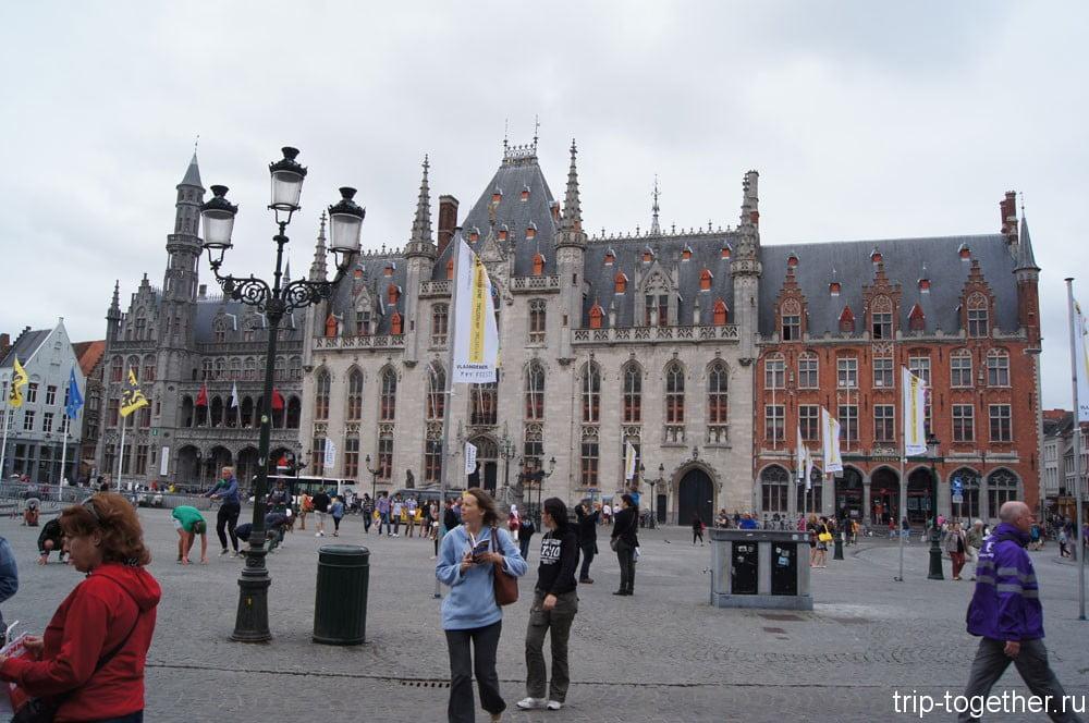 Большая площадь Достопримечательность Брюгге