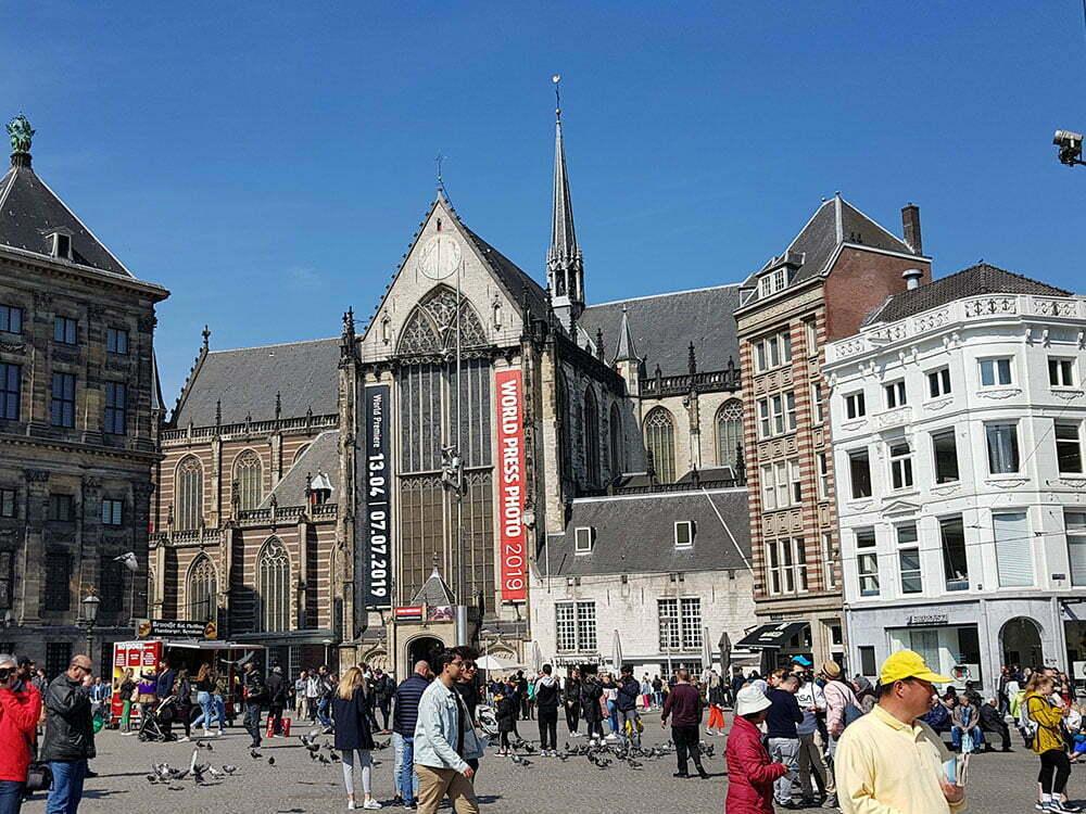 Новая церковь на площади Дам