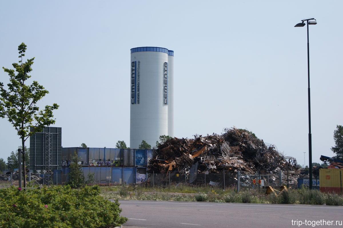 Завод по переработке мусора в порту Мальме
