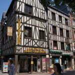 Фахверковые дома в Руане