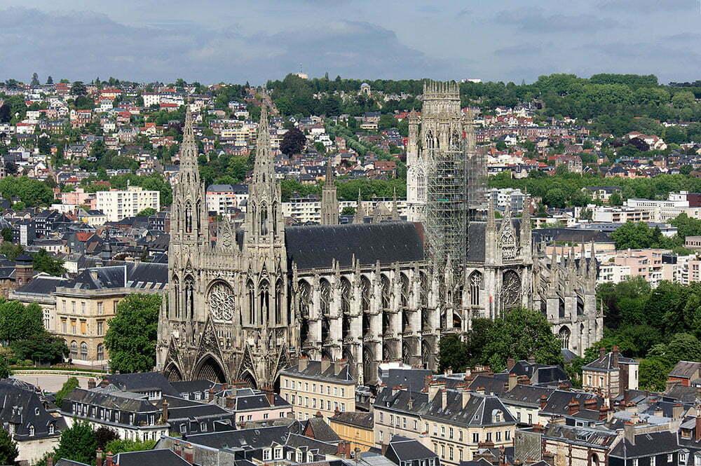 Церковь аббатства Сент-Уэн