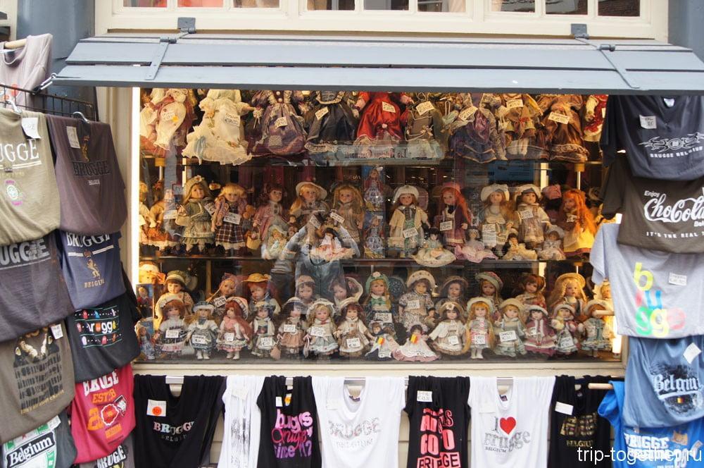 Сувениры в Брюгге