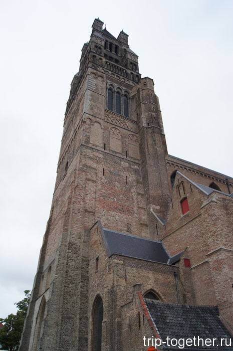 Кафедральный собор Христа Спасителя. Достопримечательности Брюгге