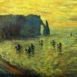 Лодки в Этрета, Клод Моне