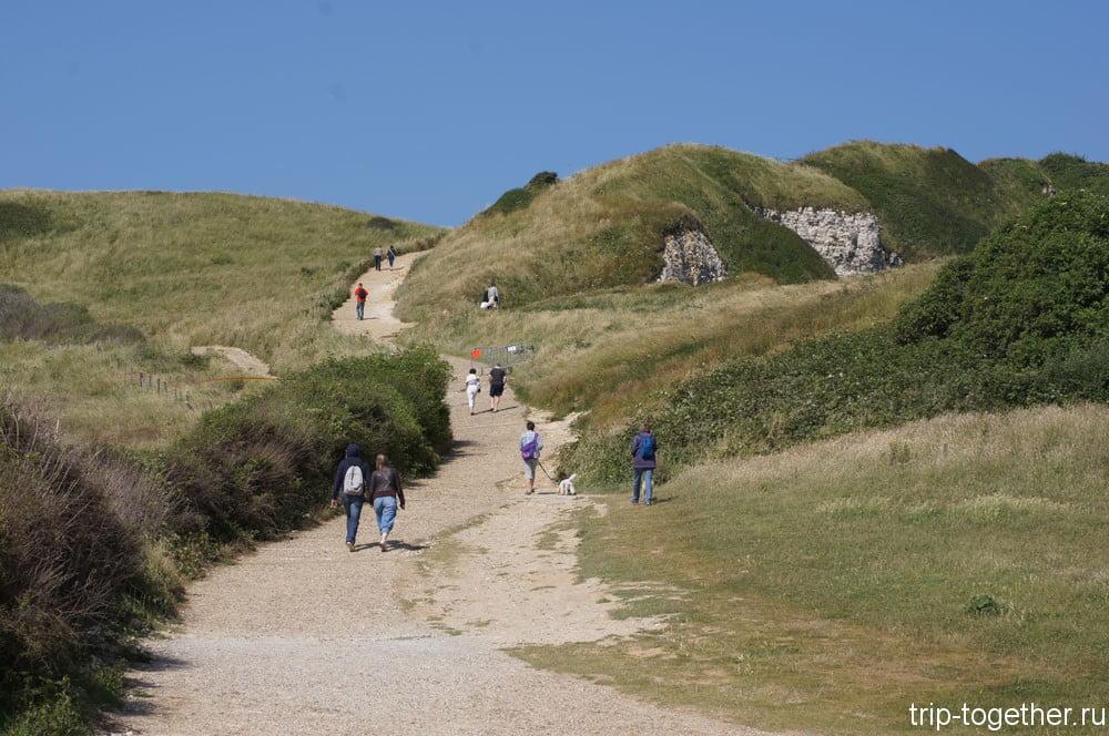 Прогулочные дорожки на вершинах скал