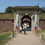 Ворота старинной крепости